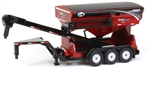 Spec Cast J&M 390 Red Gooseneck Seed Tender with Triples