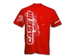 Case IH Vertical Logo & Tractor Youth T-Shirt -Red