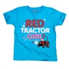 Toddler Red Tractor Girl T-Shirt - Blue