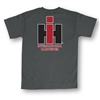 Youth T-Shirt w/IH Logo on Hip and Back - Charcoal
