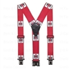 Children's IH Perry Suspenders - RED