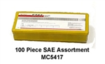 100-Piece SAE Grease Fitting Assortment