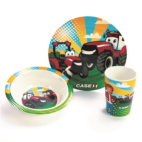 Casey and Friends 3 Piece Dish Set MH-8900 - Walmart.com