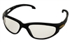 New Holland Clear Lens, Black Frame Safety Glasses