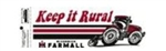 Keep it Rural Farmall Bumper Sticker