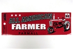 All American Farmer Bumper Sticker