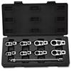 9 Pc. SAE Crowfoot Wrench Set - 3/8 Drive