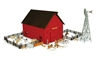 Ertl Red Western Barn Playset 1:64