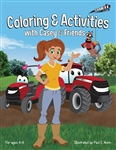 Case IH `Casey And Friends` Coloring And Activities Book