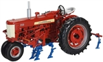 1:16 Farmall 350 Tractor with Two Row Cultivator
