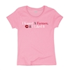 "IH ""I Kissed A Farmer"" Pink T-Shirt"